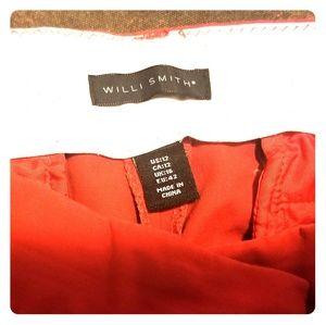 Willi Smith Red Capri's